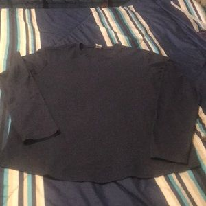 Other - Long sleeve navy blue thermal shirt